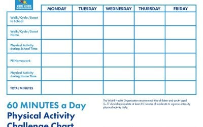 60 Minutes Physical Activity Challenge