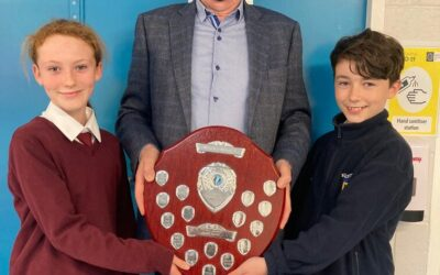 Winners of the Mr. Mooney Shield Swimming Competition 2020!